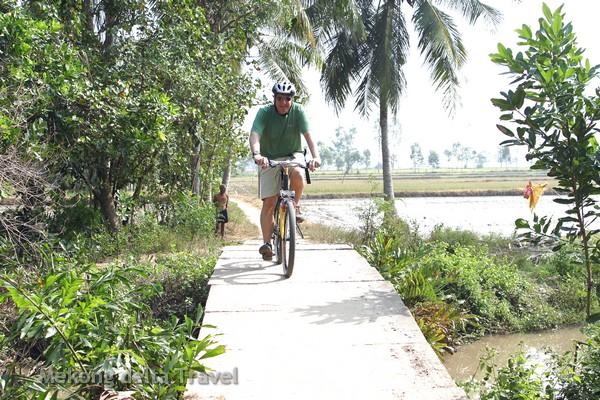 cycling, vietnam, mekong delta, holiday