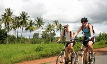 cycling day tour mekong delta