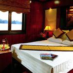 halong bay cruise cabin