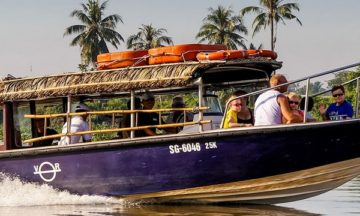 mekong delta river trip by speed boat from ho chi minh city