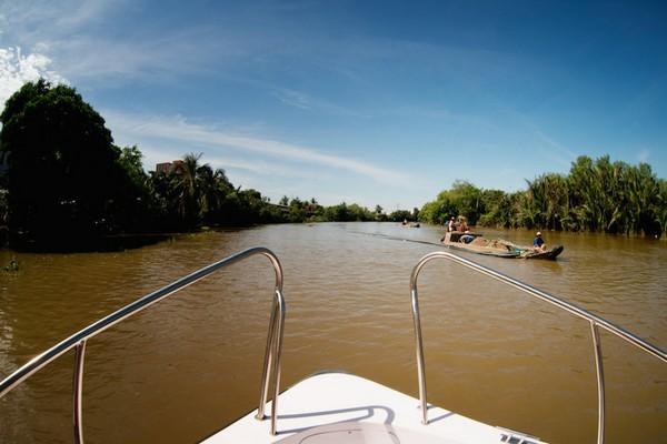 mekong river tour saigon river