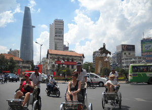 Saigon City day tour with cyclo ride